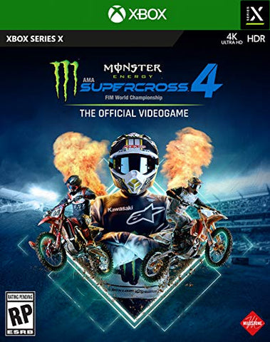 Monster Energy Supercross 4 - Xbox Series X