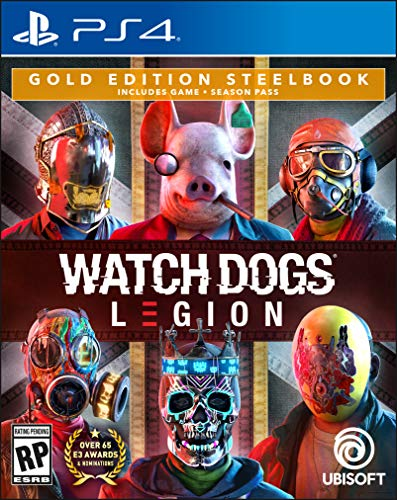 Watch Dogs Legion - PlayStation 4 Gold Steelbook Edition