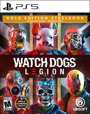Watch Dogs: Legion Gold Steelbook Edition - PlayStation 5