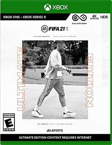 FIFA 21 Ultimate Edition - Xbox One - Xbox Series X Generic Box Cover