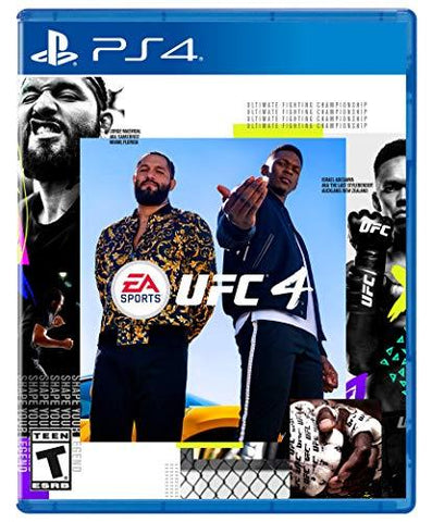 EA SPORTS UFC 4 - PlayStation 4 Box Cover