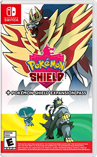 Pokemon Shield + Pokemon Shield Expansion Pass - Nintendo Switch
