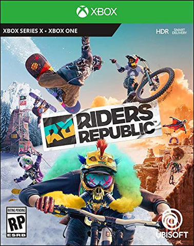 Riders Republic Xbox Series X|S, Xbox One Box Cover