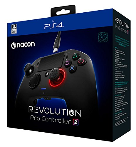 NACON Revolution Pro Controller V2 [Wired] Gamepad PS4 Playstation 4 eSports Fighting Customisable