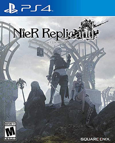 Nier Replicant Ver.1.22474487139 - PlayStation 4 Box Cover