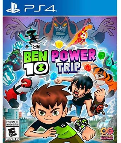Ben 10 Power Trip - PlayStation 4 Generic Box Cover