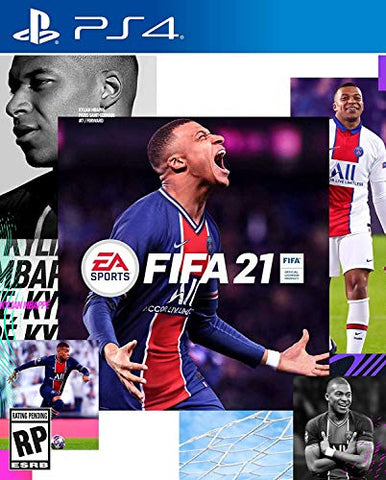 FIFA 21 - PlayStation 4 Box Cover Generic