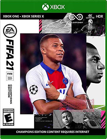 FIFA 21 Champions Edition - Xbox One - Xbox Series X Generic Box Cover
