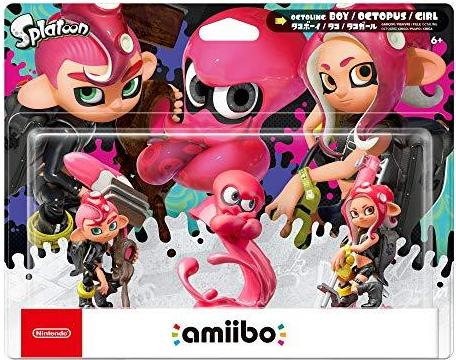 Octoling 3-pack (Splatoon Series) Amiibo