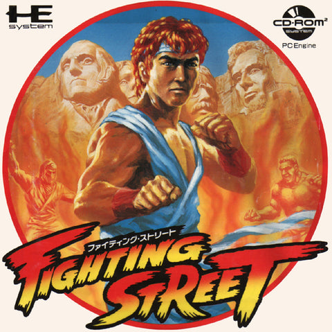 Fighting Street - Turbo CD (Japan)