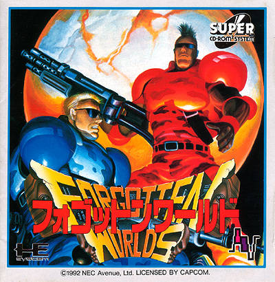 Forgotten Worlds - Turbo CD (Japan)