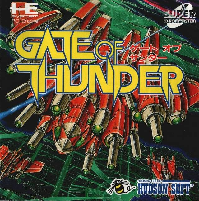 Gate of Thunder - Turbo CD (Japan)