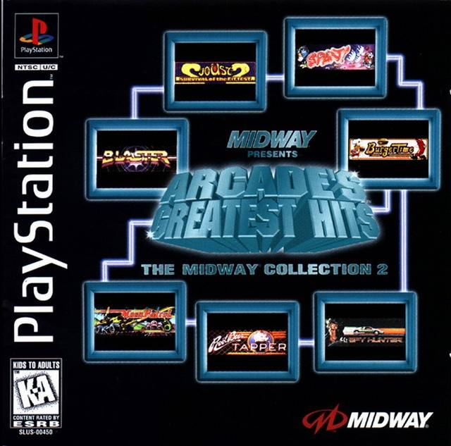 Midway Presents Arcade's Greatest Hits: The Midway Collection 2 - PlayStation