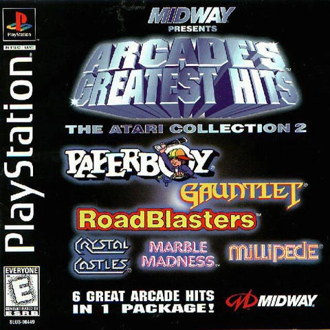 Midway Presents Arcade's Greatest Hits: The Atari Collection 2 - PlayStation