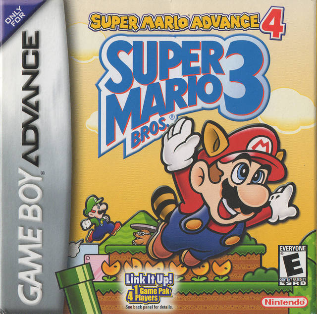 Super Mario Advance 4: Super Mario Bros. 3 (Reprint) - Game Boy Advance
