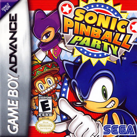 Sonic Pinball Party - Game Boy Advance [USED]