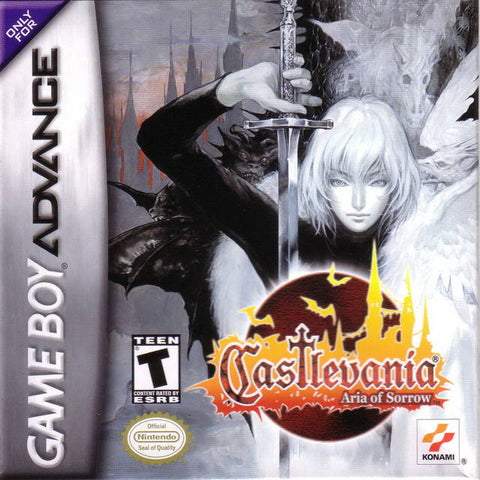 Castlevania: Aria of Sorrow - Game Boy Advance [USED]