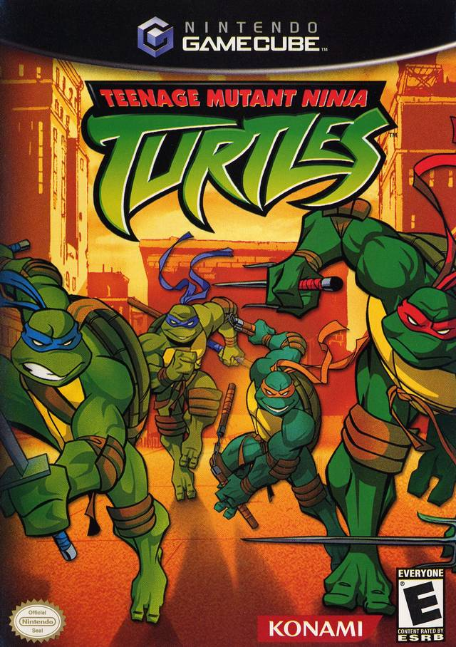 Teenage Mutant Ninja Turtles - GameCube [USED]