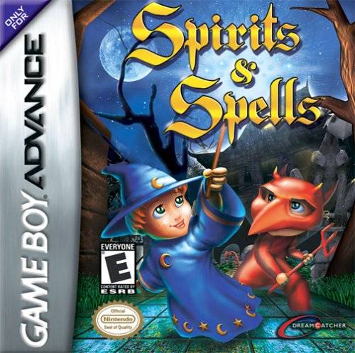 Spirits & Spells - Game Boy Advance (Action & Adv, 2003, US )