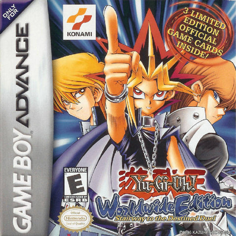 Yu-Gi-Oh! Worldwide Edition: Stairway to the Destined Duel - Game Boy Advance [USED]