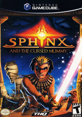 Sphinx and the Cursed Mummy - GameCube [USED]