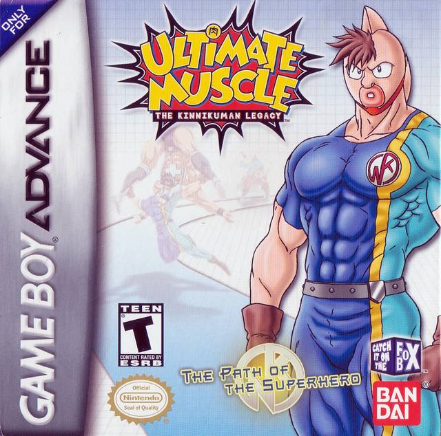 Ultimate Muscle: The Kinnikuman Legacy - The Path of the Superhero - Game Boy Advance (Sports, 2002, US )