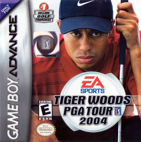 Tiger Woods PGA Tour 2004 - Game Boy Advance [USED]