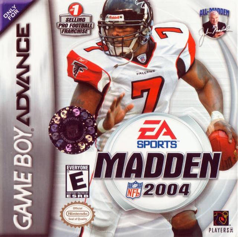 Madden NFL 2004 - Game Boy Advance [USED]