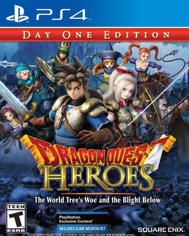Dragon Quest Heroes: The World Tree's Woe and the Blight Below (Day One Edition) - PlayStation 4