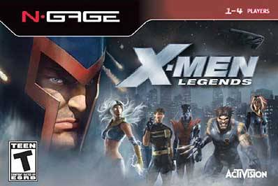 X-Men Legends - N-Gage