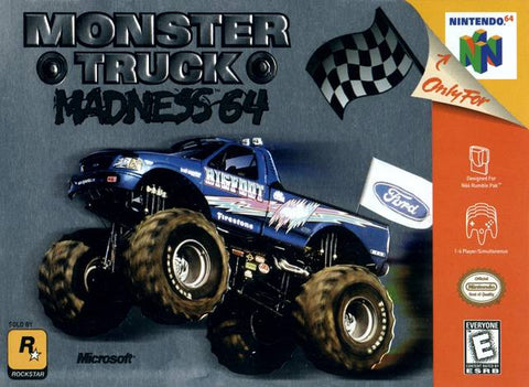 Monster Truck Madness 64 - Nintendo 64 [USED]