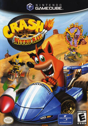 Crash Nitro Kart - GameCube [USED]
