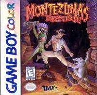 Montezuma's Return - Game Boy Color [USED]