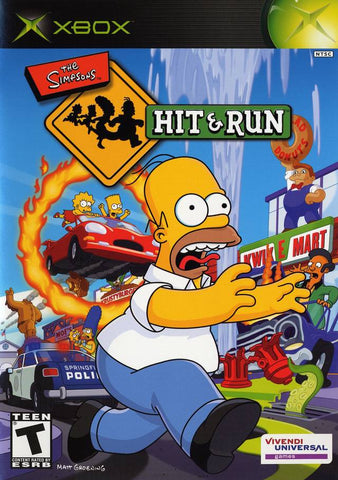The Simpsons: Hit & Run - Xbox