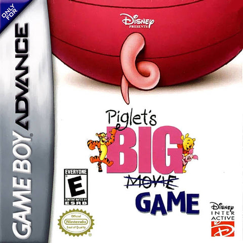Disney Presents Piglet's Big Game - Game Boy Advance [USED]