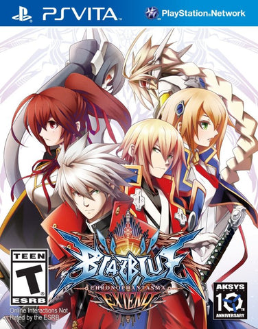 BlazBlue: Chrono Phantasma Extend - PS Vita
