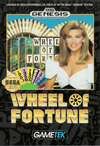 Wheel of Fortune - SEGA Genesis [USED]