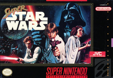 Super Star Wars - Super Nintendo [USED]