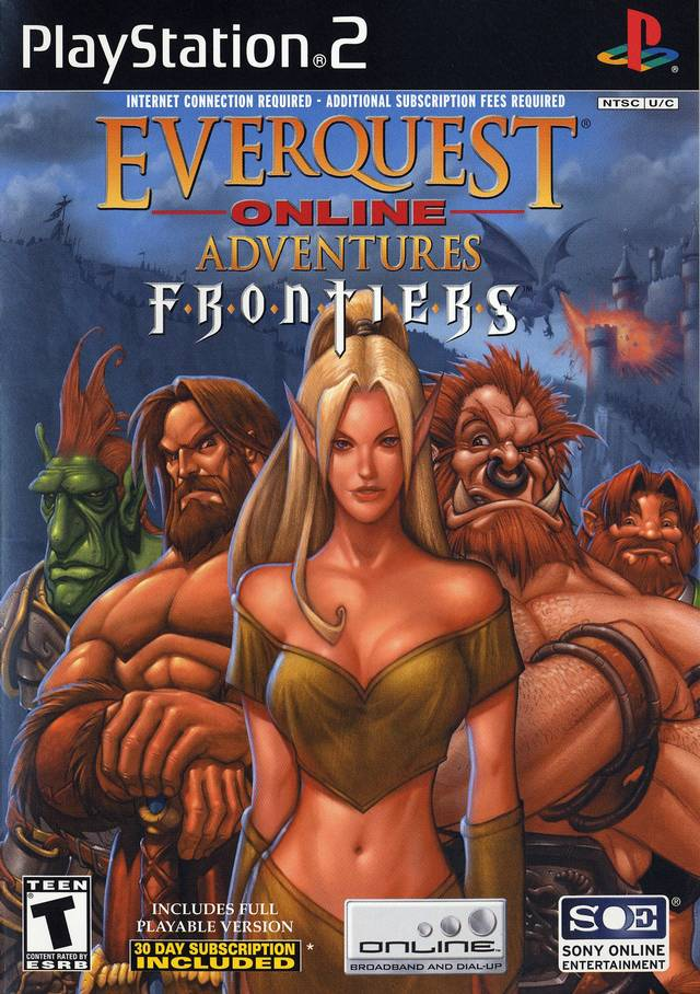 EverQuest Online Adventures: Frontiers - PlayStation 2