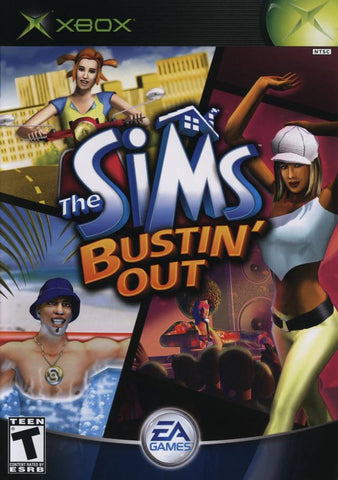 The Sims Bustin' Out - Xbox