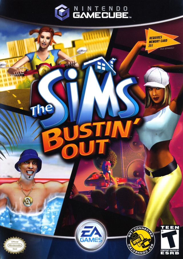 The Sims Bustin' Out - GameCube [NEW]