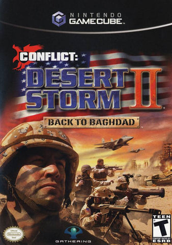 Conflict: Desert Storm II - Back to Baghdad - GameCube [USED]