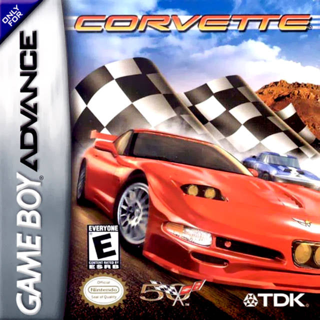 Corvette - Game Boy Advance (Racing, 2003, US )