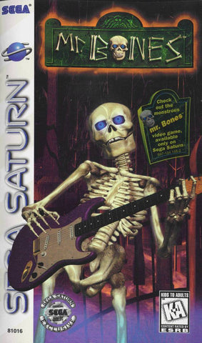Mr. Bones - SEGA Saturn [USED]