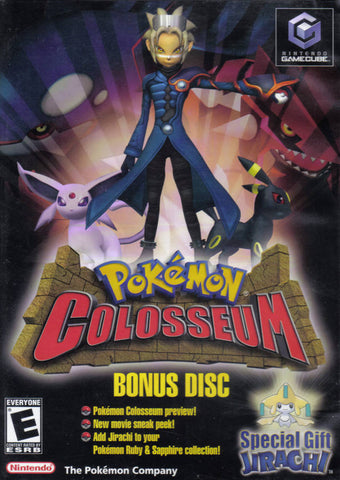 Pokemon Colosseum (Bonus Disc) - GameCube [USED]