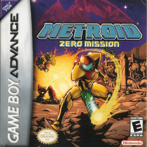 Metroid: Zero Mission - Game Boy Advance [USED]