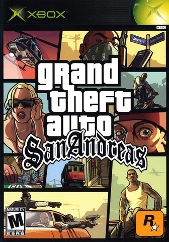 Grand Theft Auto: San Andreas - Xbox