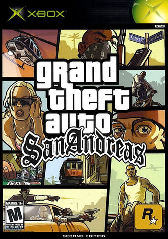 Grand Theft Auto: San Andreas (Second Edition) - Xbox