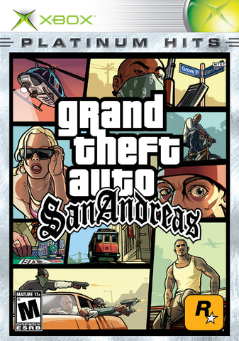 Grand Theft Auto: San Andreas (Platinum Hits) - Xbox Pre-Owned