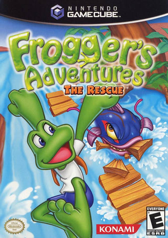 Frogger's Adventures: The Rescue - GameCube [USED]